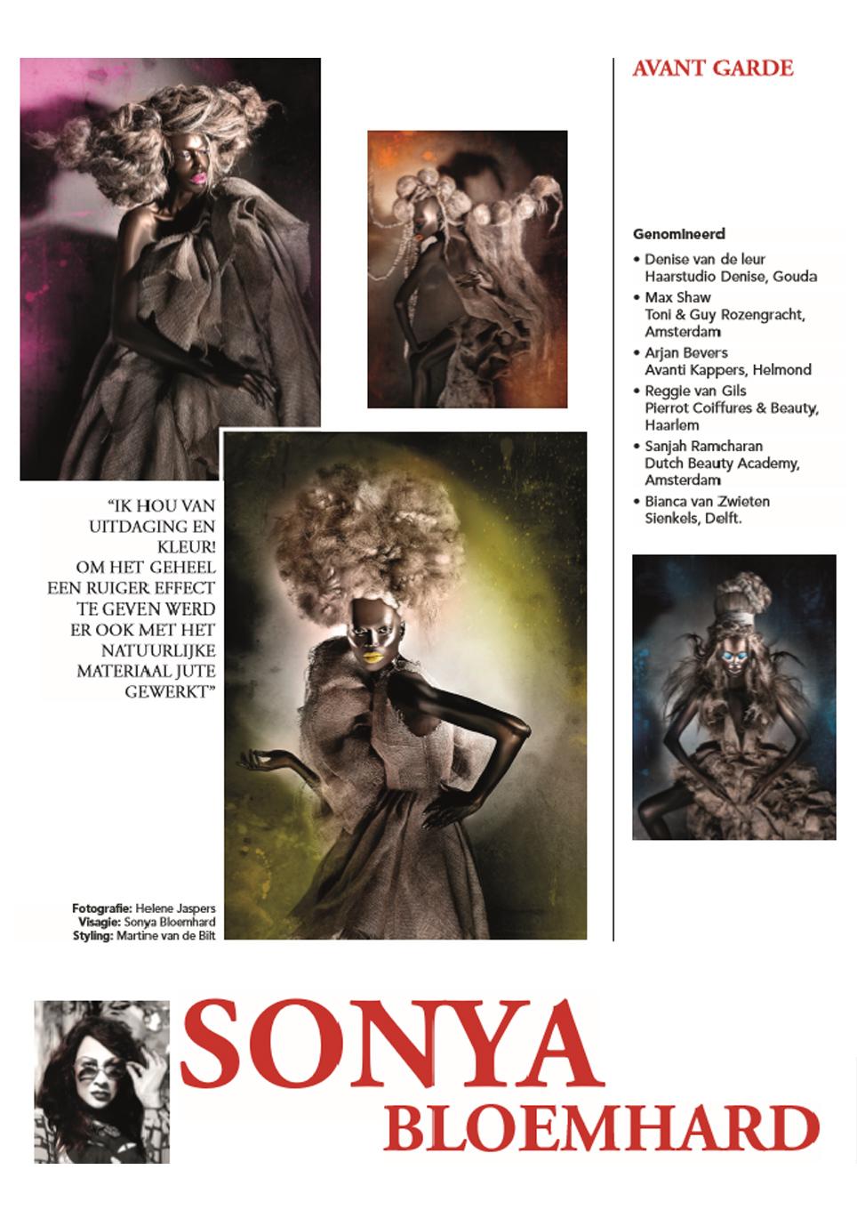 Avant Garde, Sonya Bloemhard