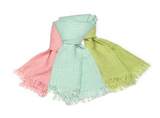Sjaals: diverse kleuren en maten, 100% linnen