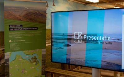 Presentatie voor het Grensdlandpark foto presentatie 2